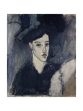 The Jewess, 1908 Stampa giclée di Amedeo Modigliani