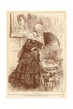 A Grandmother Giclee Print by Frederick Barnard
