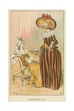 Parisiennes 1789 Giclee Print by Albert Robida