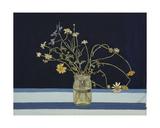 Still Life on a Blue Background, c.1960 Giclee Print by Nina Ivanovna Shirokova