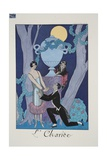 Avarice, from 'Falbalas and Fanfreluches, Almanach des Modes Présentes, Passées et Futures', 1925 Giclee Print by Georges Barbier