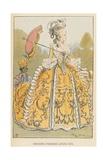 Grands Paniers Louis XVI Giclee Print by Albert Robida