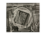 The Welding Workshop at the Cement Plant. Mounting the Revolving Oven, 1978 Giclee Print by Masabikh Akhunov