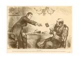 The Usurer Giclee Print by Frederick Barnard