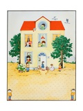 Children's House, 1980 Giclee Print by Christian Kaempf
