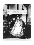 Empress Dowager Cixi of China, 1904 Photographic Print by  Chinese Photographer