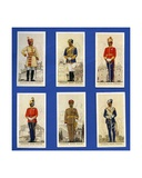 Officers of the Bikanir, Gwalior, Jaipur, Jodhpur, Kashmir and Mysore State Forces, Indian… Giclee Print