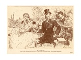 My Maiden Aunt Giclee Print by Frederick Barnard