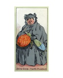 Sairey Gamp, from 'Martin Chuzzlewit', 1923 Giclee Print by Joseph Clayton Clarke