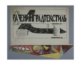 Leningrad Textile Manufacture, 1925 Giclee Print by Galina Konstantinovna Shubina