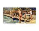 A Scout Is Clean, 1929 Giclee Print by  English School