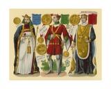 Victorian Scrap: King Henry IV, King Henry V, King Henry VI Giclee Print by  English School