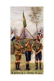A Scout Is a Friend to All, 1929 Giclee Print by  English School