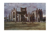 Melrose Abbey Giclee Print by Francis S. Walker