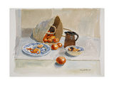 Oranges and Leach Jug, 2011 Giclee Print by Lucy Willis