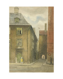 Old Riga, 1946 Giclee Print by Evgenia Endrikson
