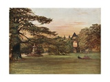 Garden of Newstead Abbey Giclee Print by Francis S. Walker