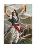 Storming of the Bastille, 1789 Giclee Print by Tancredi Scarpelli