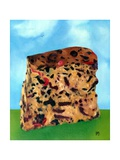 Cake in a Landscape, 1988 Giclee Print by Ann Brain