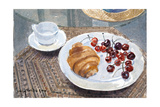 Breakfast in Syria, 2010 Giclee Print by Lucy Willis