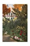 Villa Hvidore Giclee Print by Mima Nixon