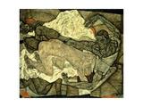 Lovers (Man and Woman I); Liebespaar (Mann Und Frau I), 1914 Giclee Print by Egon Schiele