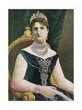 Margherita of Savoy, Queen of Italy Giclee Print by Tancredi Scarpelli