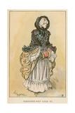 Parisienne Sous Louis XV Giclee Print by Albert Robida