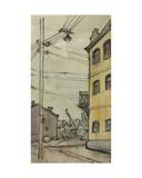 Lesnaya Street, Moscow, c.1960 Giclee Print by Nina Ivanovna Shirokova
