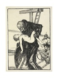 More Cruel Than Death, Illustration from the Kaiser's Garland by Edmund J. Sullivan, Pub. 1916 Giclee Print by Edmund Joseph Sullivan