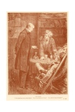 The Tutor Giclee Print by Frederick Barnard