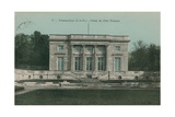 Versailles, Palais Du Petit Trianon. Postcard Sent in 1913 Giclee Print by  French Photographer