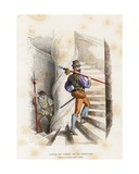 Guard, 1574-1589 Giclee Print by  French School
