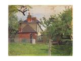 Villa Beaulieu, Honfleur, 1909 Giclee Print by Felix Edouard Vallotton
