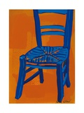 Blue Chair, 2012 Giclee Print by Sarah Gillard