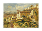 View of the Post Office, Cagnes; Vue de La Poste, Cagnes, 1907 Giclee Print by Pierre-Auguste Renoir