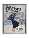 Something New in Sportswear, Front Cover of the 'Dupont Magazine', April 1921 Giclee Print by  American School