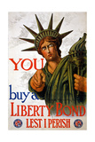 """You Buy a Liberty Bond"", 1917 Giclee Print by Charles Raymond Macauley"