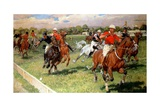A Game of Polo, 1911 Giclee Print by Ludwig Koch