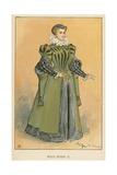 Sous Henri II Giclee Print by Albert Robida