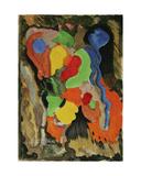 Colour Composition, 1965 Giclee Print by Nina Ivanovna Shirokova