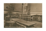 The Kitchen, Christ Church, Oxford. Postcard Sent in 1913 Giclee Print by  English Photographer