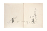 Front Endpapers - a Christmas Carol, 1915 Giclee Print by Arthur Rackham