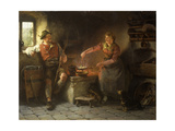 In the Kitchen, 1901 Giclee Print by Hugo Wilhelm Kauffman