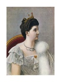 Elena of Savoy, Queen of Italy Giclee Print by Tancredi Scarpelli