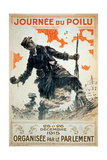 Poilu Day, 1915 Giclee Print by Maurice Louis Henri Neumont