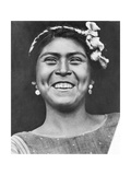 Woman of Tehuantepec, Mexico, 1929 Photographic Print by Tina Modotti