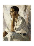 Portrait of J.A. Gandarillas, 1922 Giclee Print by Christopher Wood