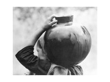 Woman with Olla, Mexico, c.1927 Photographic Print by Tina Modotti