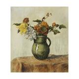 Vase of Flowers; Vase de Fleurs, c.1900 Giclée-Druck von Paul Ranson